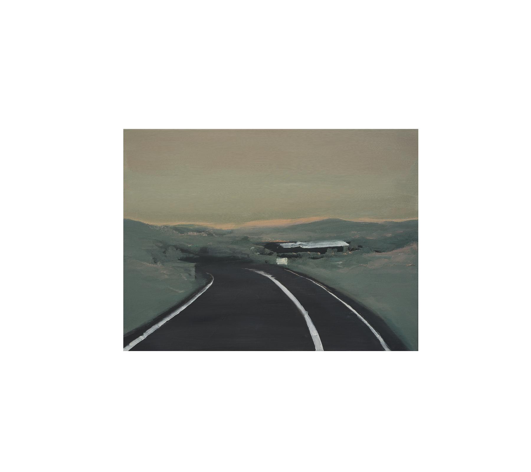 Evening drive 2018 60x80cm