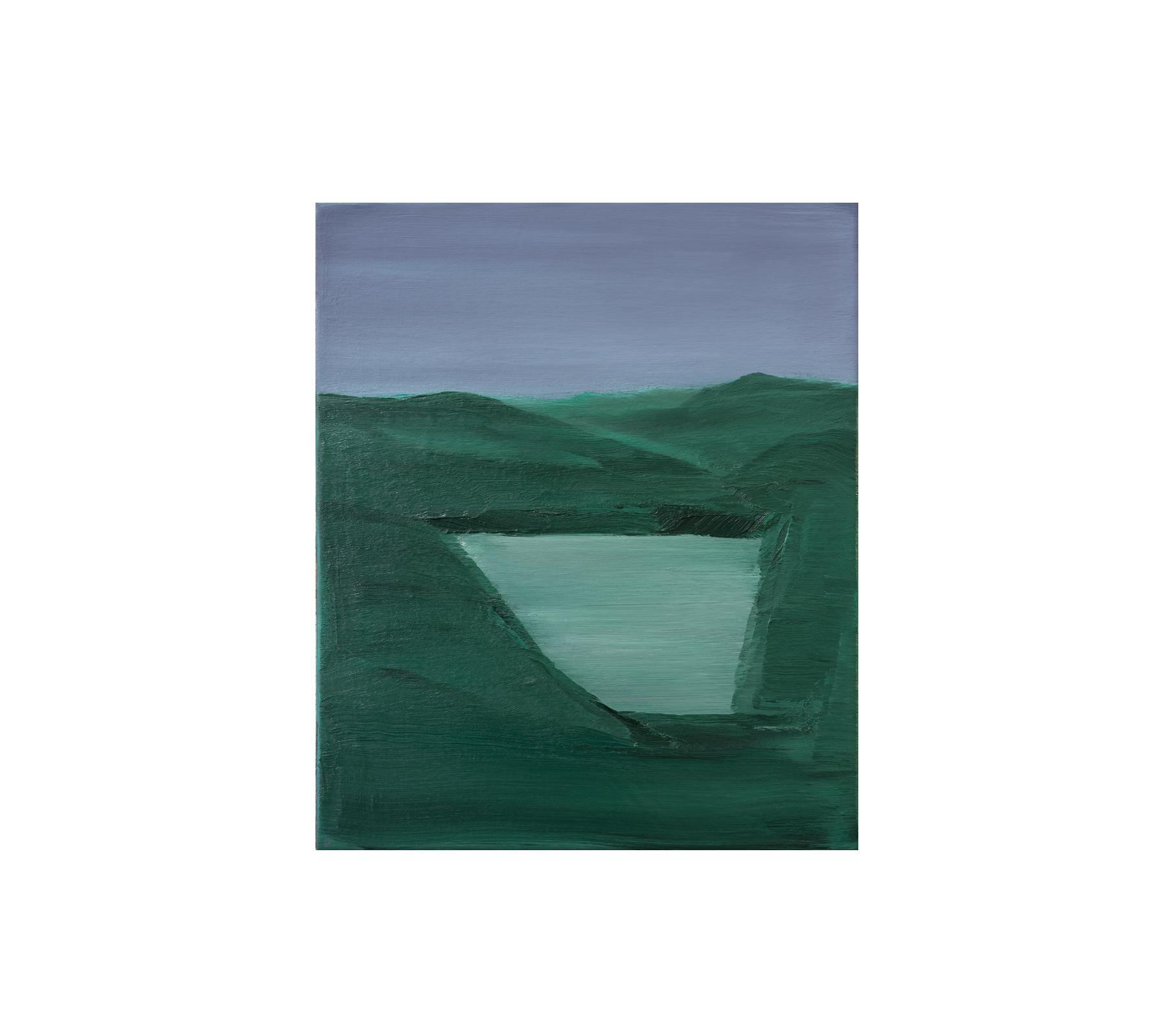 Lake 2018 60x50cm