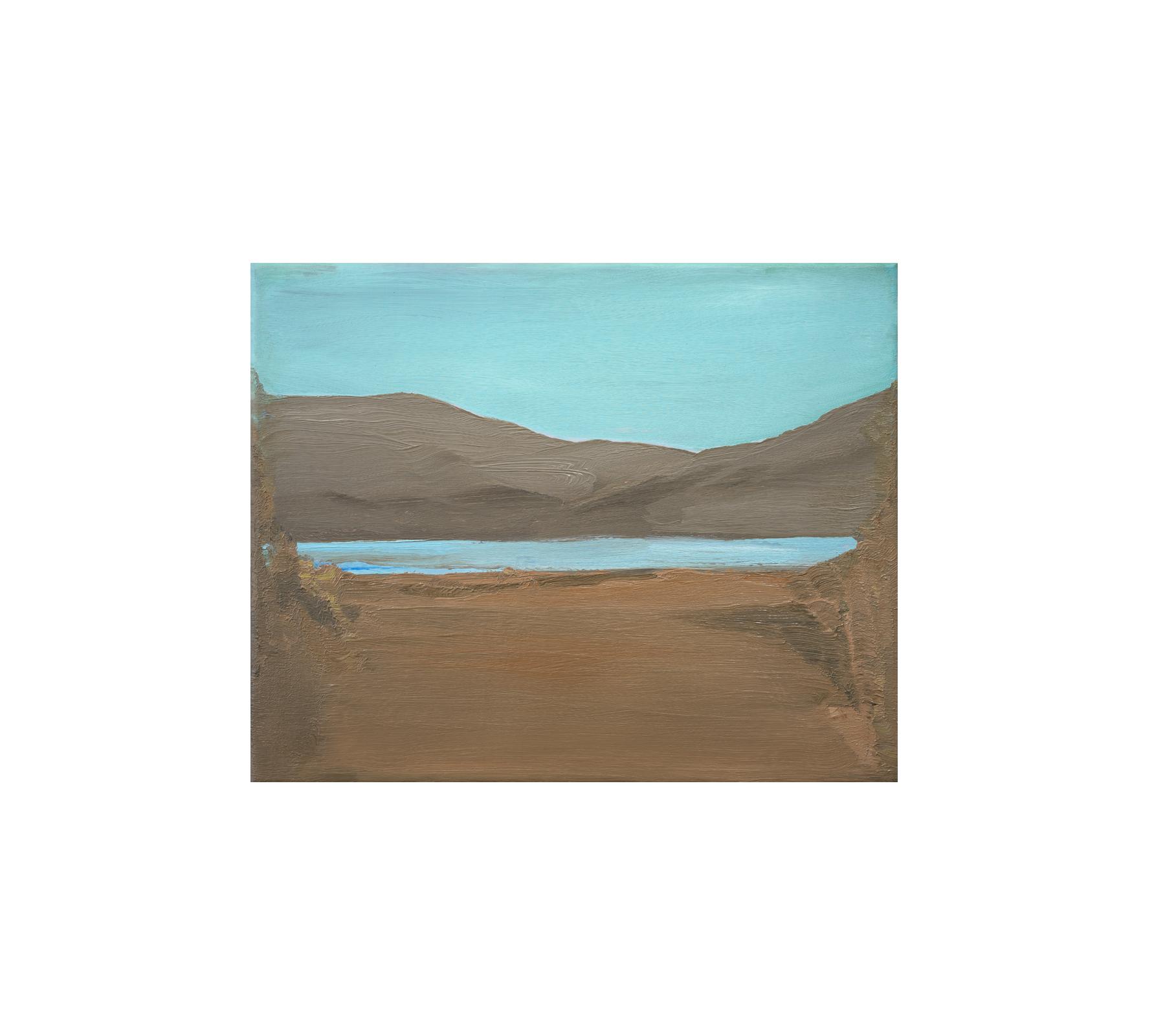 Untitled landscape 2020 40x50cm