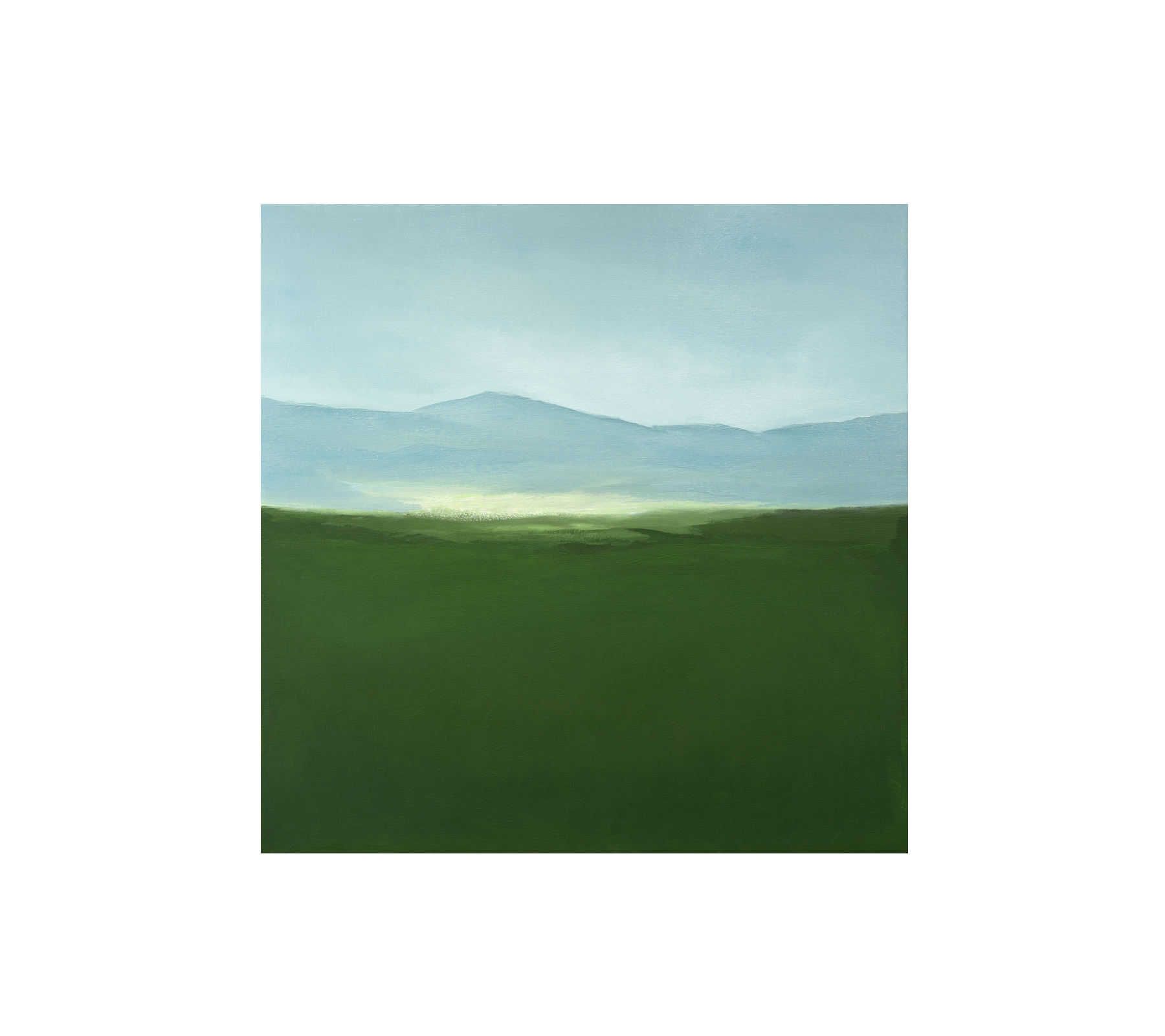 Untitled Landscape 2020 100x100cm