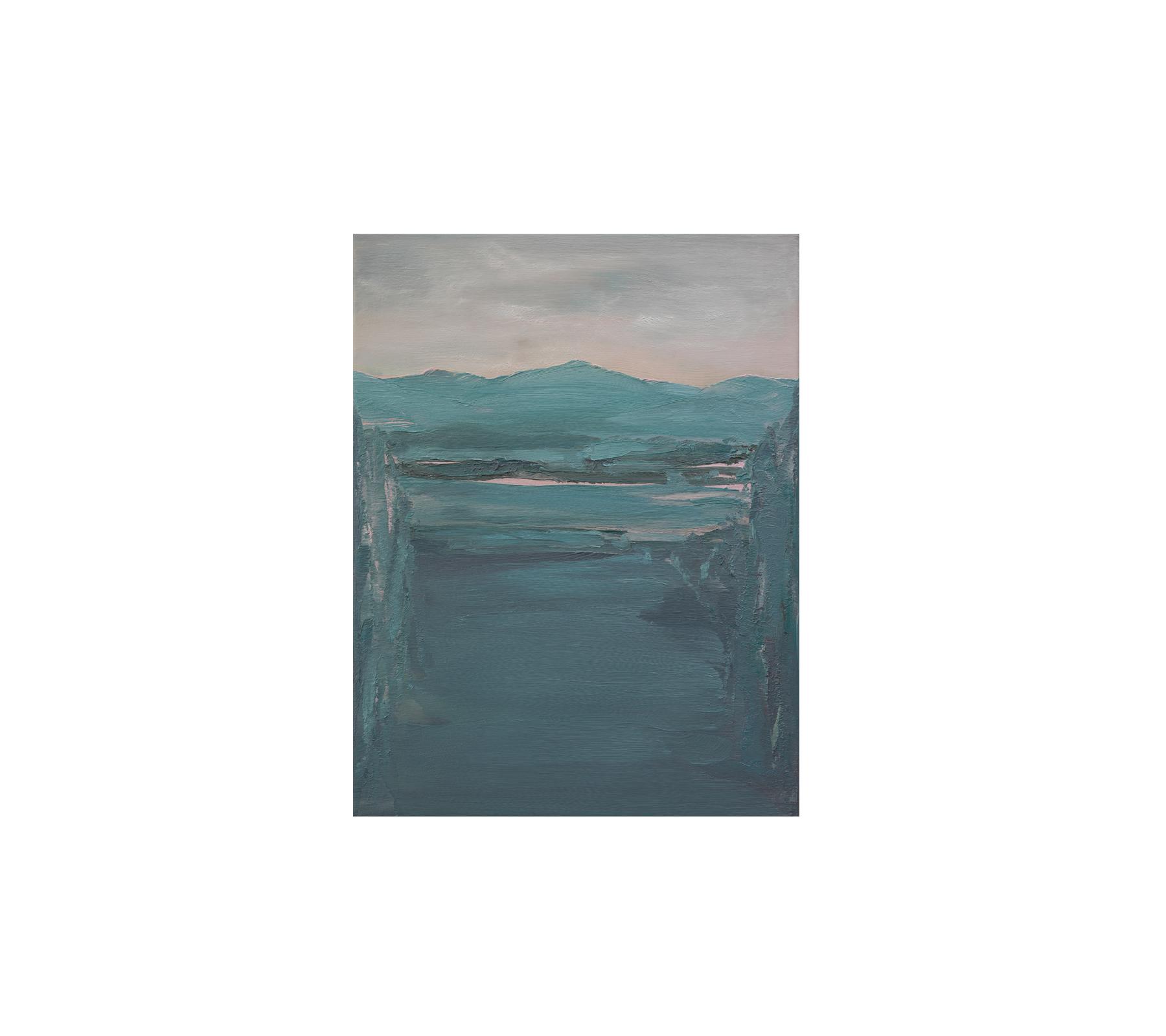 Untitled landscape 2020 65x50cm
