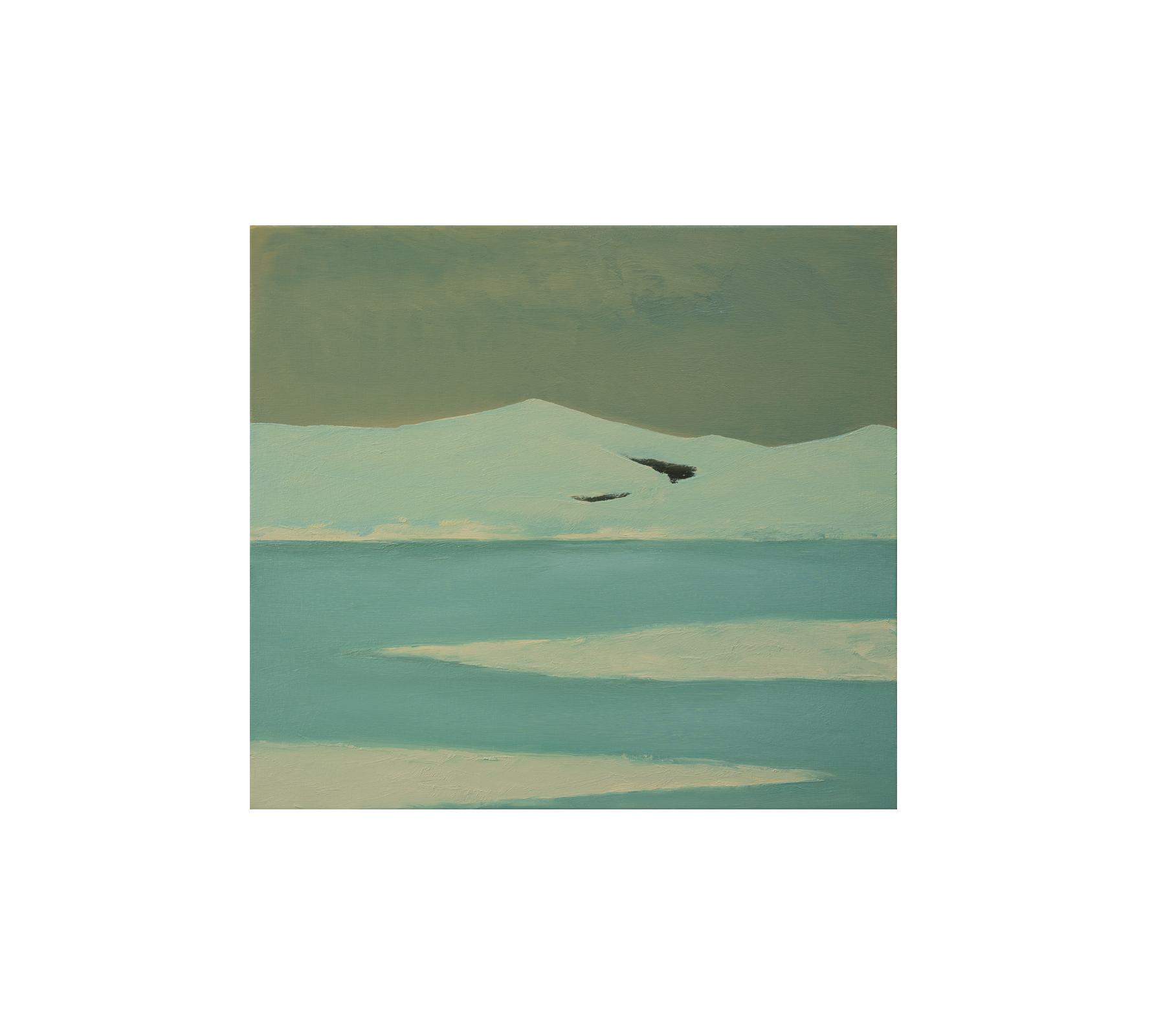 Untitled landscape 2020 90x100cm
