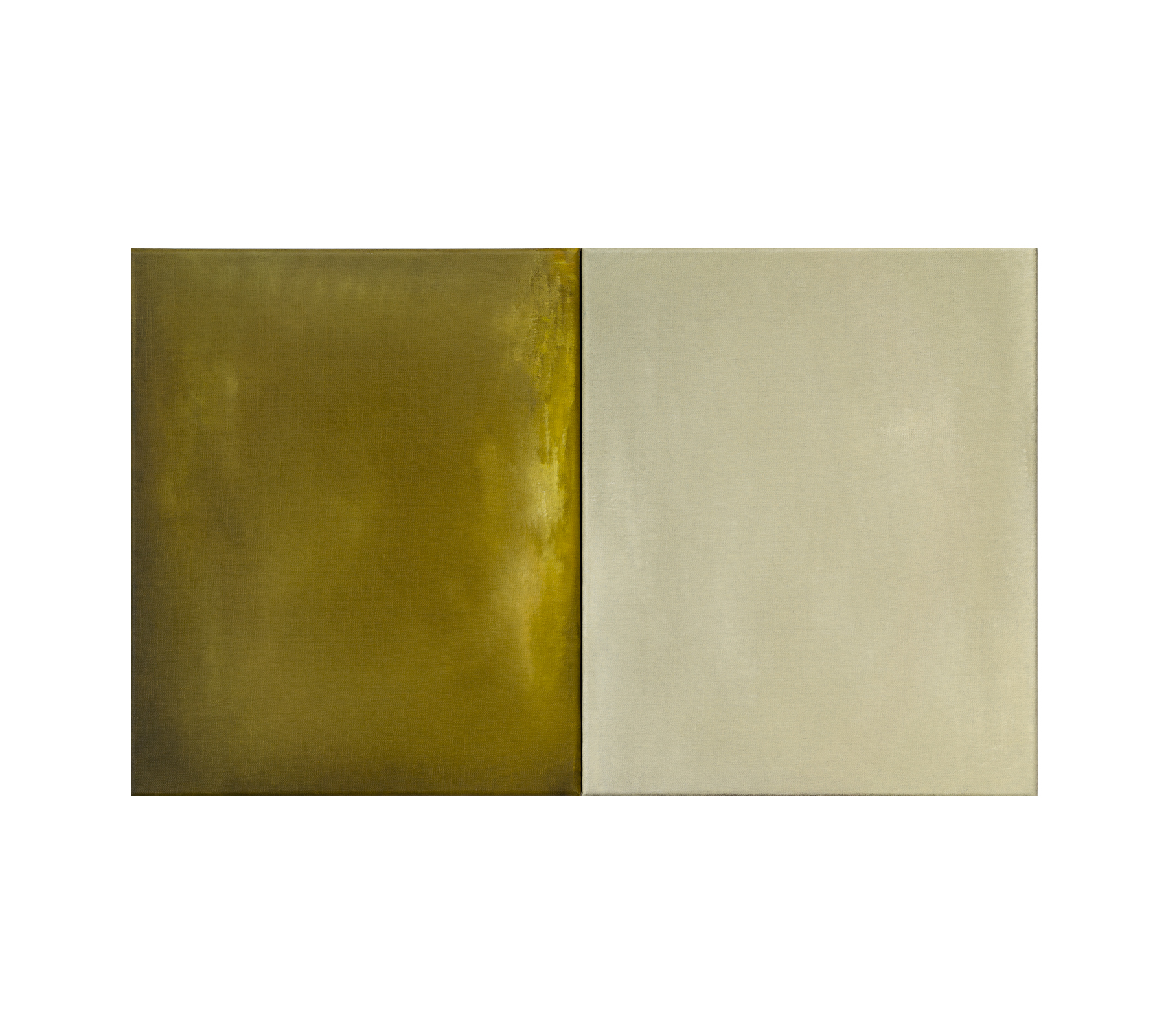 Untitled diptych 2020 46x72cm