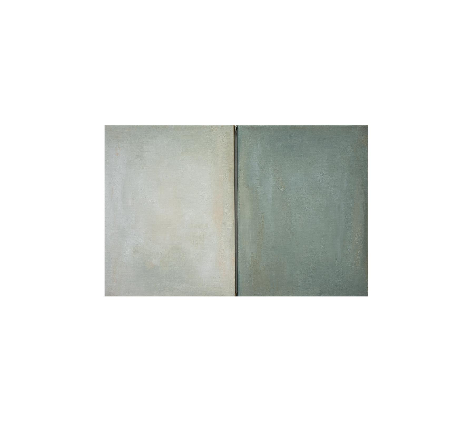 Untitled,(Winter) diptych 2019 40x60cm