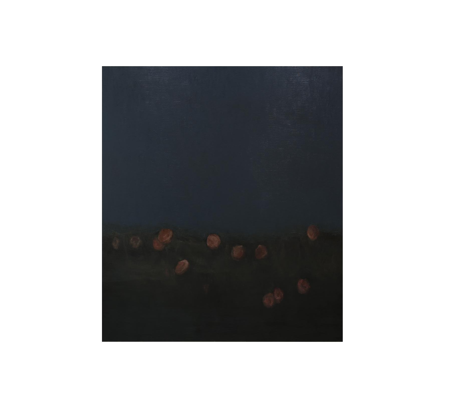 Night roses 2019 170x150cm