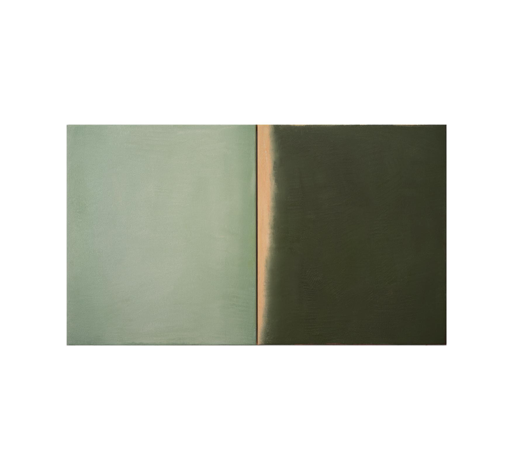 Untitled diptych 2021 70x120cm