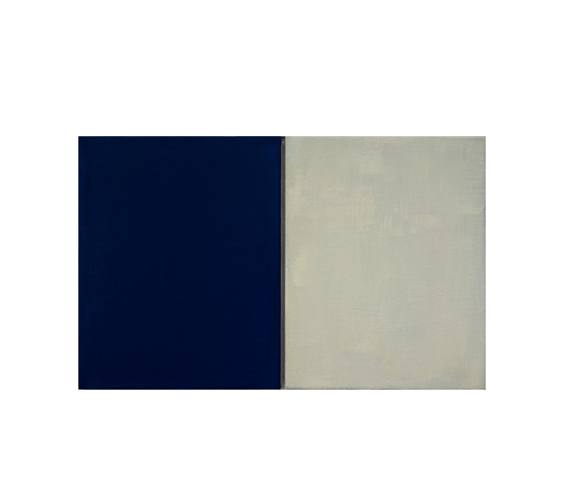 Untitled diptych 2021 50x80cm
