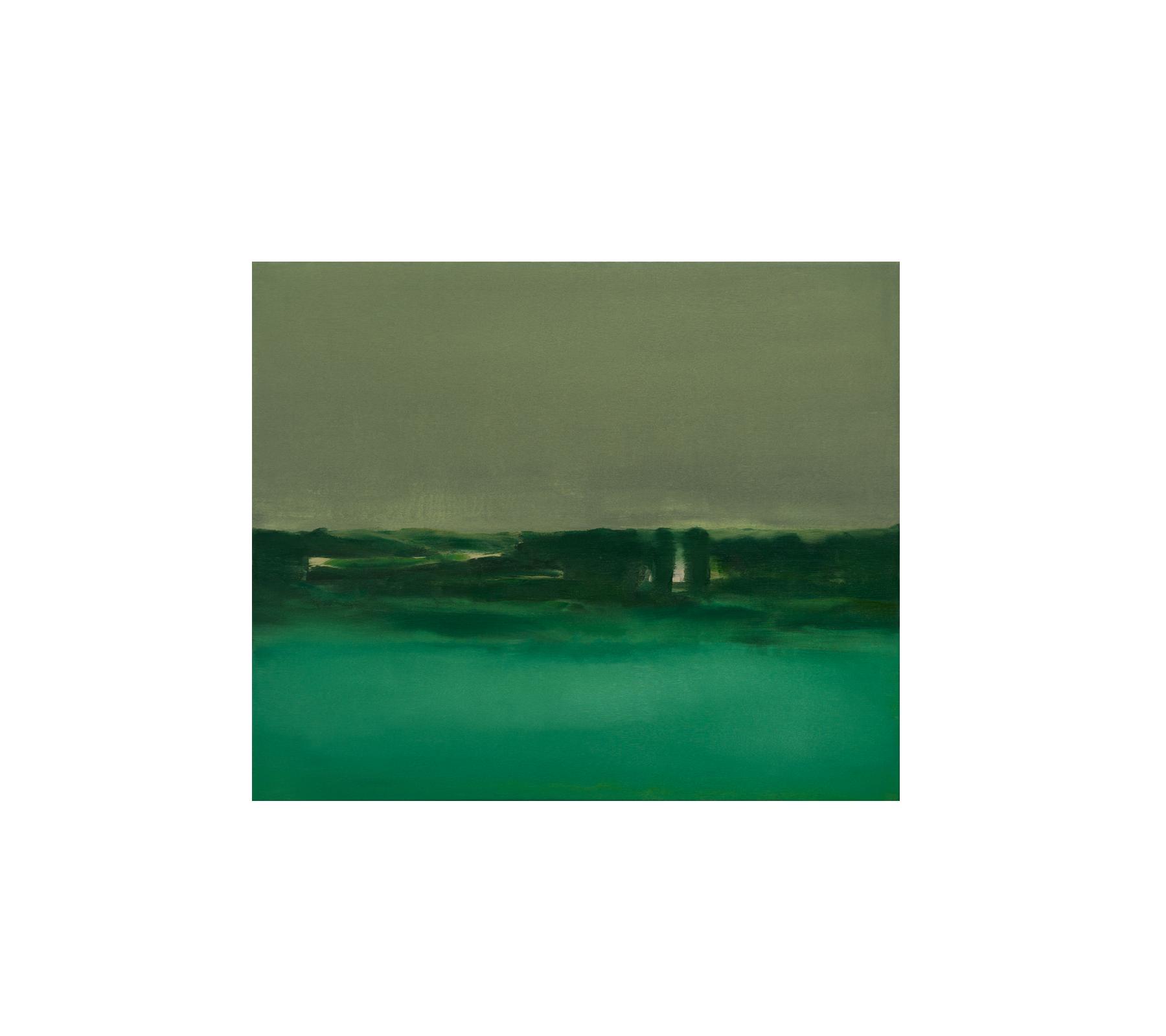 Untitled landscape 2021 100x120cm