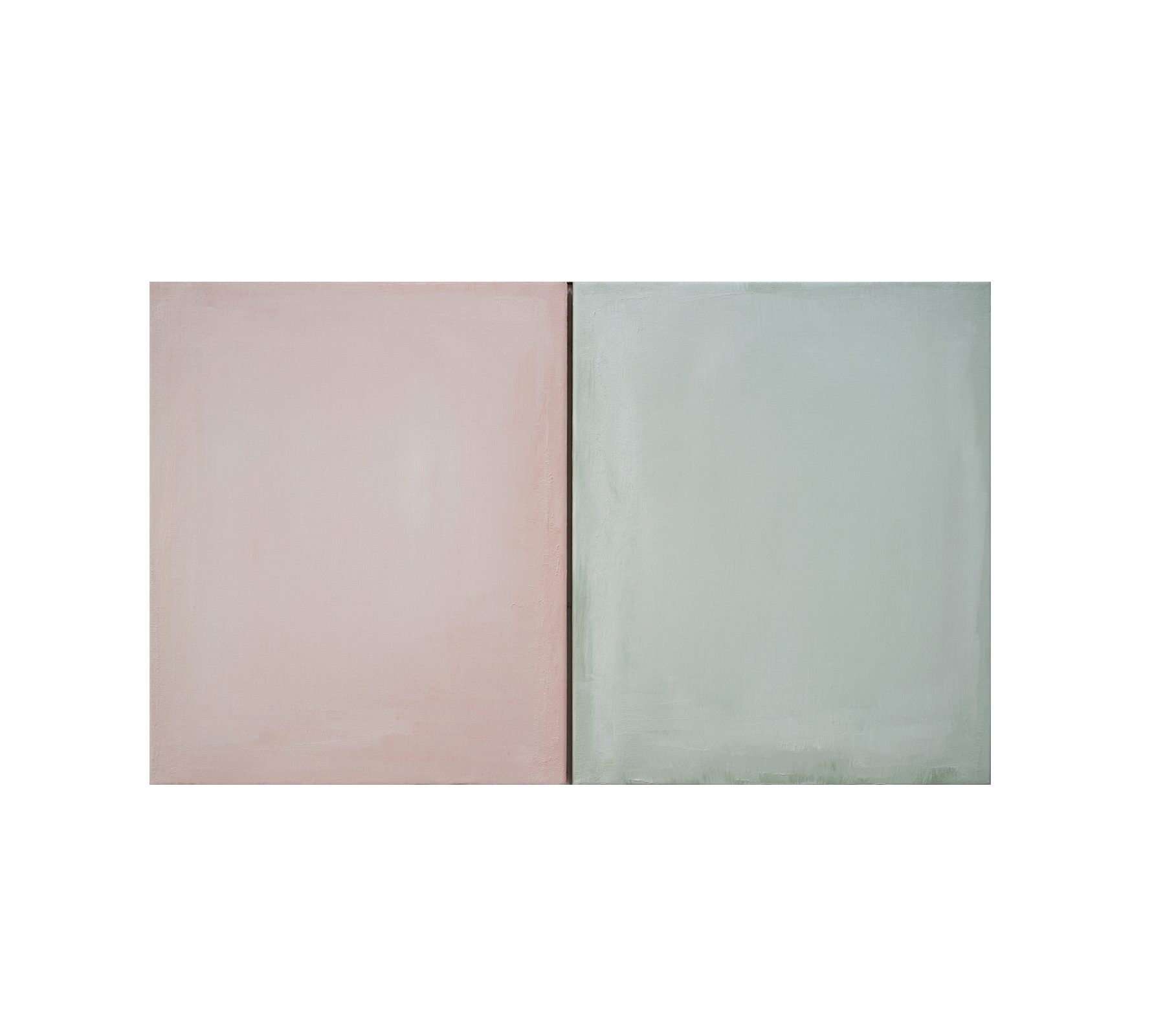 Untitled diptych 2020 60x100cm